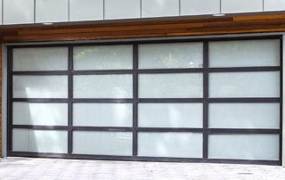 Aluminum Glass Garage Doors - 8800
