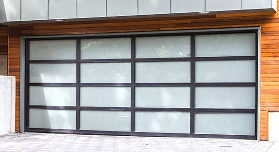 Aluminum Glass Garage Doors - 8800