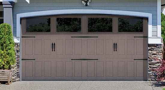 Designer Steel Garage Door - 9510