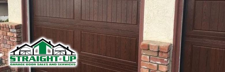 straight up garage doors